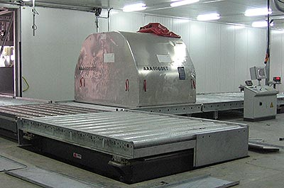Customised lifting systems Air cargo