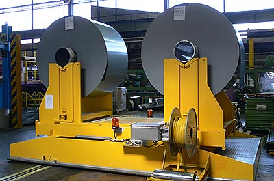 Customised lifting systems Sheet metal industry