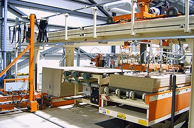 Customised lifting systems Woodworking industry