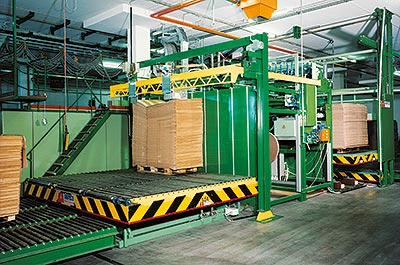 Customised lifting systems Paper industry