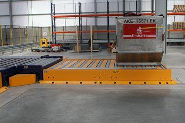 Aircargo - Workstation mit Wägezellen