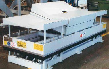 Papierindustrie - Hub- und Kippstation